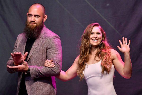 GettyImages 992520056 600x400 1 - Ronda Rousey, ex-campeã do UFC, dá à luz a sua primeira filha