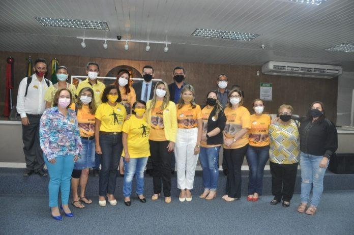 """""""Setembro Amarelo"""" foi pauta de sessão especial na Câmara Municipal de Campina Grande"""