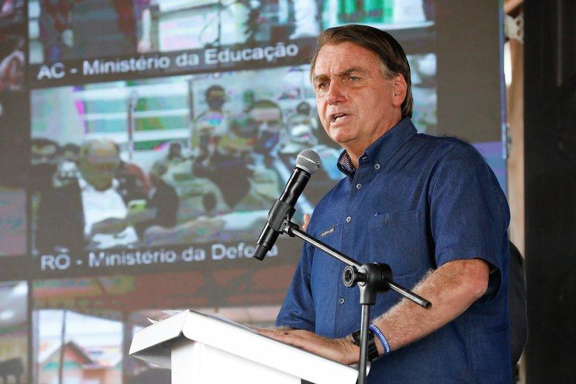 """Jair Bolsonaro Boa Vista Roraima 29.set .2021 - """"Esse preço vai cair, se Deus quiser"""", diz Bolsonaro sobre valor do gás de cozinha"""