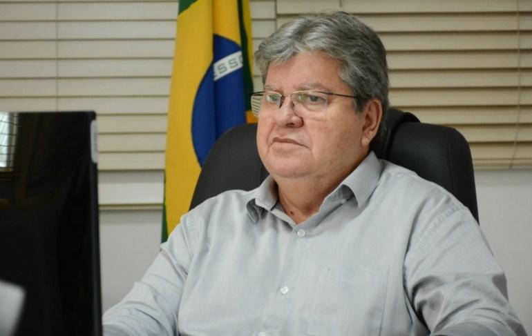 Joao Azevedo 2 - Governador anuncia Programa de Regularidade Fiscal 2021 com redução de até 80% das multas