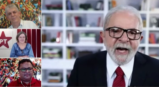 LULA E RICARDO 1 - Lula anuncia viagem à Paraíba para 'peregrinação nas ruas' com Ricardo Coutinho