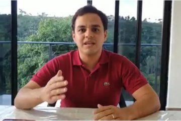 """""""Tentam fazer um jogo de cena político"""", diz prefeito de Bananeiras após denuncia de omissão em obra no complexo de Piscicultura"""