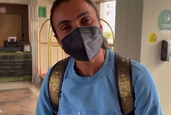 Marta JP - RAINHA EM JP: Marta desembarca na Paraíba e se junta à delegação da seleção brasileira