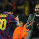 """PEP 150x150 - PARCERIA INESQUECÍVEL! Guardiola manda recado para técnico do PSG: """"Nunca tire Messi"""""""