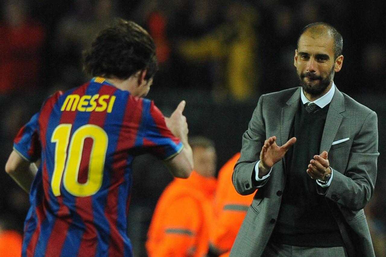 """PEP - PARCERIA INESQUECÍVEL! Guardiola manda recado para técnico do PSG: """"Nunca tire Messi"""""""