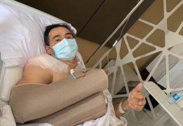 Romero se recupera de cirurgia em Campina Grande: 'foi um sucesso'