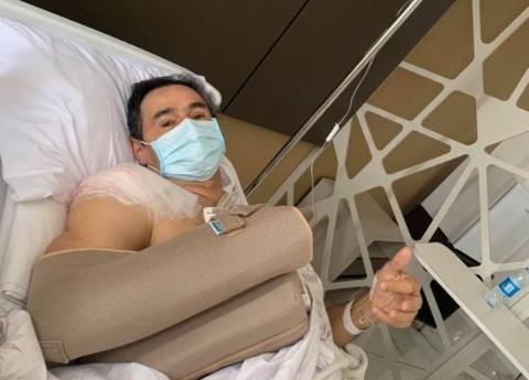 ROMERO RODRIGUES - Romero se recupera de cirurgia em Campina Grande: 'foi um sucesso'