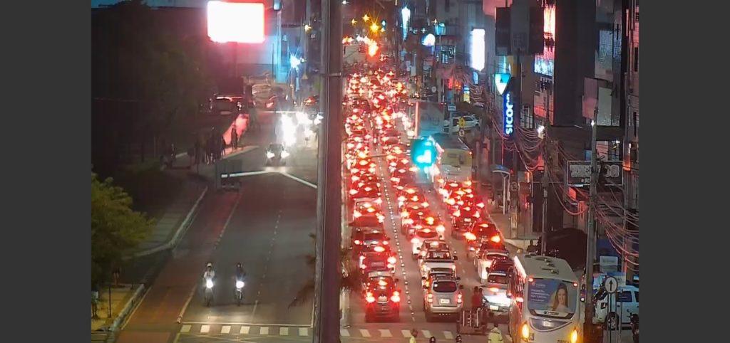 Retao 1024x482 1 - PROTESTO: pela terceira vez, motoboys fecham Retão de Manaíra e pedem justiça após morte de Kelton Marques