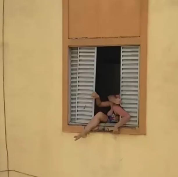 Screenshot 20210914 225949 - Polícia prende homem que agredia esposa grávida; vítima tentou se jogar da janela para se salvar