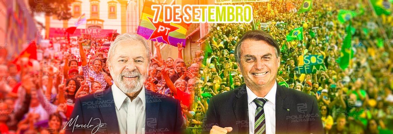 WhatsApp Image 2021 09 02 at 12.36.26 - 7 DE SETEMBRO EM DUAS CORES: direita e esquerda organizam atos políticos na Paraíba; entenda as pautas
