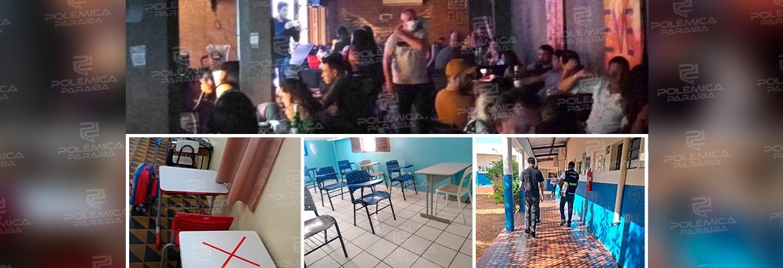 WhatsApp Image 2021 09 02 at 13.22.51 - Bar é autuado e três escolas são notificadas por descumprirem decreto contra a Covid-19 em João Pessoa