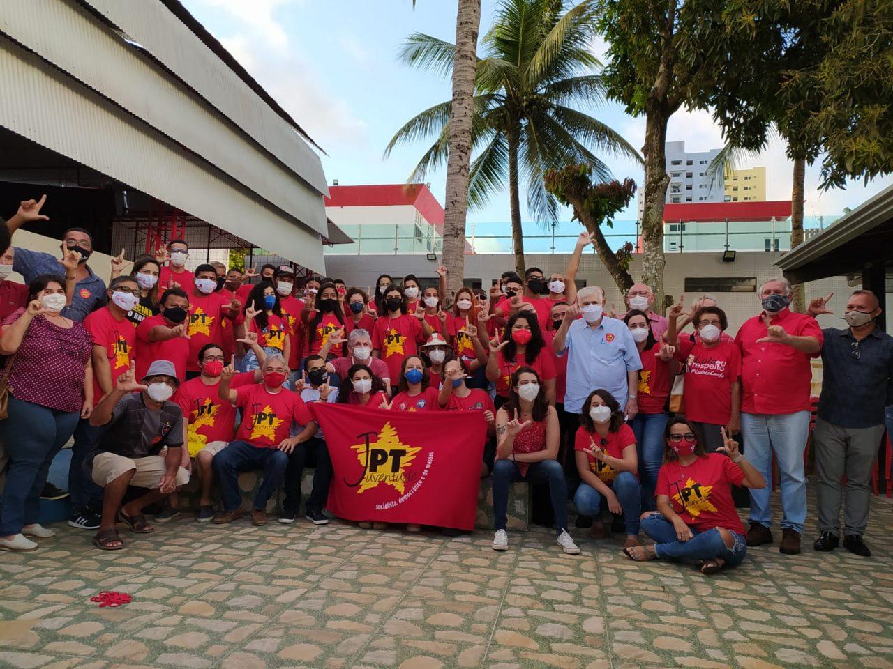 WhatsApp Image 2021 09 04 at 17.12.59 1 scaled - Prestes a se filiar ao PT, Ricardo Coutinho participa de evento com jovens do partido; VEJA VÍDEO
