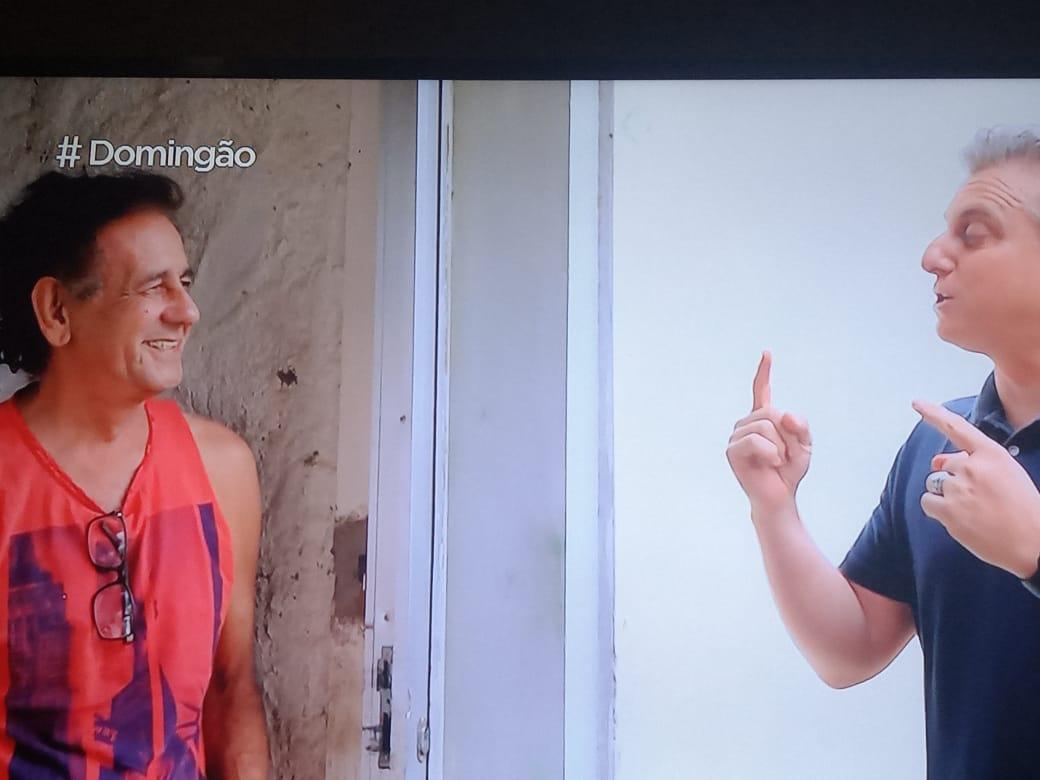 WhatsApp Image 2021 09 05 at 18.53.37 - Domingão com Huck: Luciano visita à Paraíba para contar história e realizar sonho de sertanejo; confira