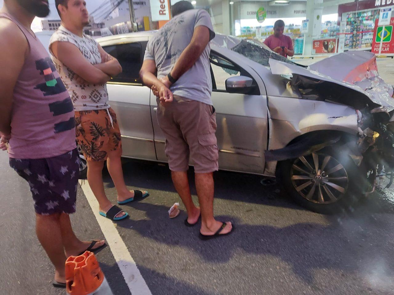 """WhatsApp Image 2021 09 11 at 08.17.16 1 scaled - TRAGÉDIA! Motoboy morre em acidente envolvendo carro em João Pessoa, e amigos acusam motorista: """"Estava embriagado"""" - VEJA VÍDEO"""