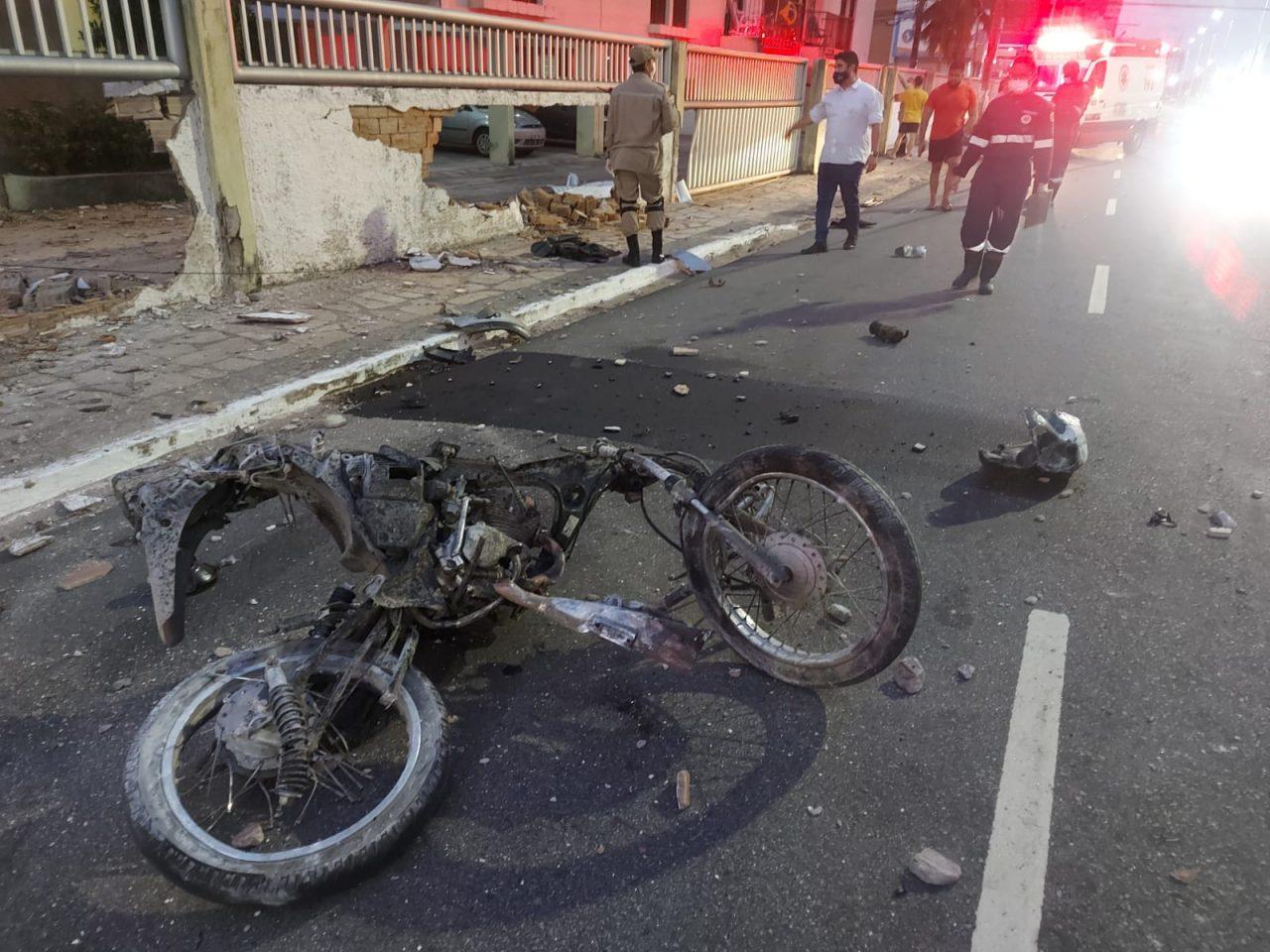 """WhatsApp Image 2021 09 11 at 08.17.17 2 scaled - TRAGÉDIA! Motoboy morre em acidente envolvendo carro em João Pessoa, e amigos acusam motorista: """"Estava embriagado"""" - VEJA VÍDEO"""