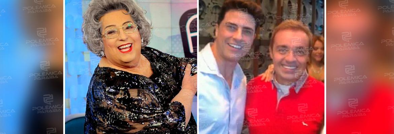 """WhatsApp Image 2021 09 17 at 15.18.01 - Mamma Bruschetta revela que Gugu namorou com ator global: """"Não gostava de expor na mídia"""""""