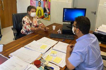 Deputada estadual Dra. Jane pleiteia Programa Tá na Mesa para Santa Rita
