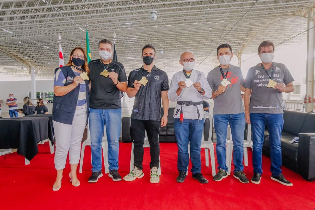 WhatsApp Image 2021 09 18 at 11.58.17 - Cícero Lucena participa da abertura do Internacional Pro de Jiu-jitsu em João Pessoa
