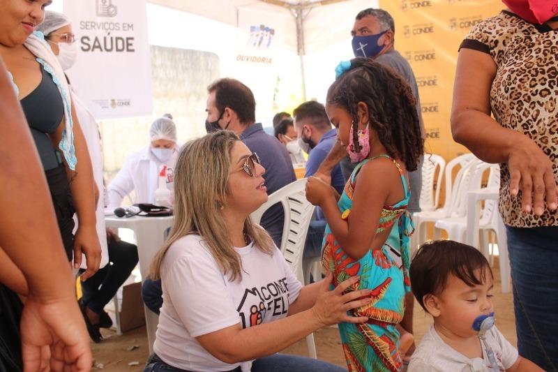 WhatsApp Image 2021 09 19 at 11.07.43 - Conde Feliz leva diversos serviços de cidadania para população do Loteamento Nossa Senhora da Conceição