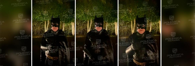 WhatsApp Image 2021 09 20 at 09.26.29 - Apresentador da CNN Brasil se fantasia de Batman para dar alerta de prevenção - VEJA