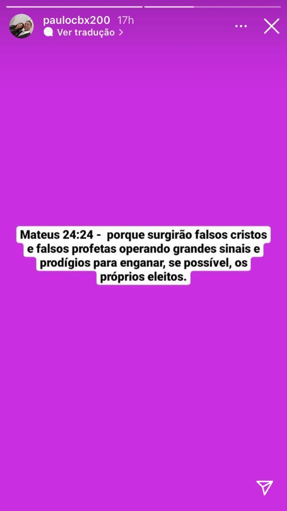 """WhatsApp Image 2021 09 20 at 16.23.07 1 - Samuel Mariano fala sobre Monalisa Feitosa em entrevista, e esposo traído rebate: """"Moleque! Grava com todo mundo junto"""""""