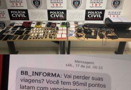 Polícia Civil deflagra Operação Password e apreende material para golpes virtuais em apartamento no Cabo Branco