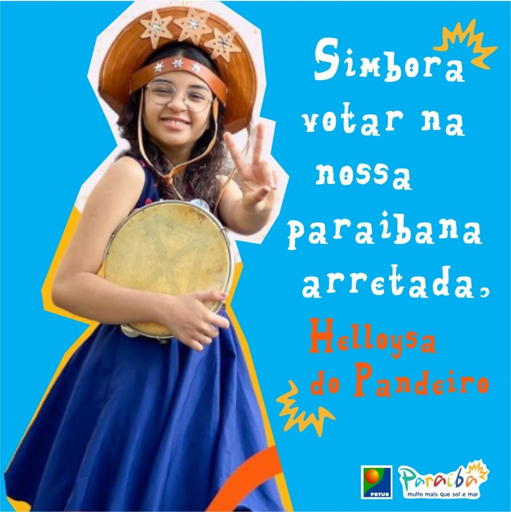 WhatsApp Image 2021 09 23 at 08.56.54 - THE VOICE KIDS: No voto, paraibanos se unem para tornar a areiense Helloysa do Pandeiro campeã