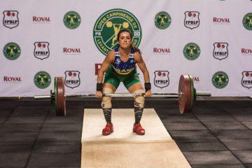 Disputa de Mayara Rocha no Brasileiro de Levantamento de Pesos será às 12h desta quinta, com transmissão ao vivo