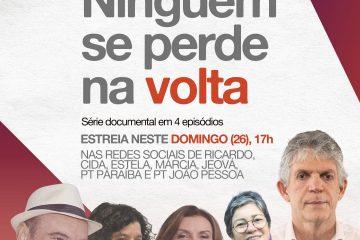 """""""Ninguém se Perde na Volta"""": documentário inédito mostra processo do retorno de Ricardo Coutinho e Jeová Campos ao PT da PB"""