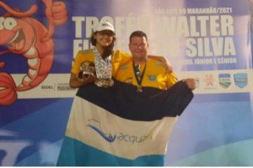 Paraibana Giovana Campos conquista 10 medalhas no Norte-Nordeste de Natação