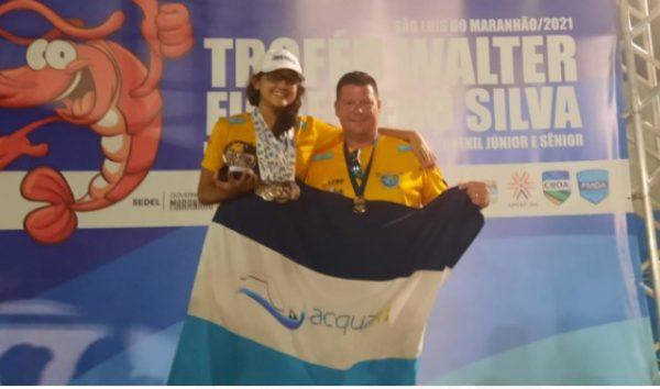 WhatsApp Image 2021 09 27 at 09.39.12 e1632748184557 - Paraibana Giovana Campos conquista 10 medalhas no Norte-Nordeste de Natação