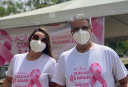 Vereador Tanilson leva 'Caminhão da Saúde' para Mangabeira e realiza mamografias e outros exames em JP