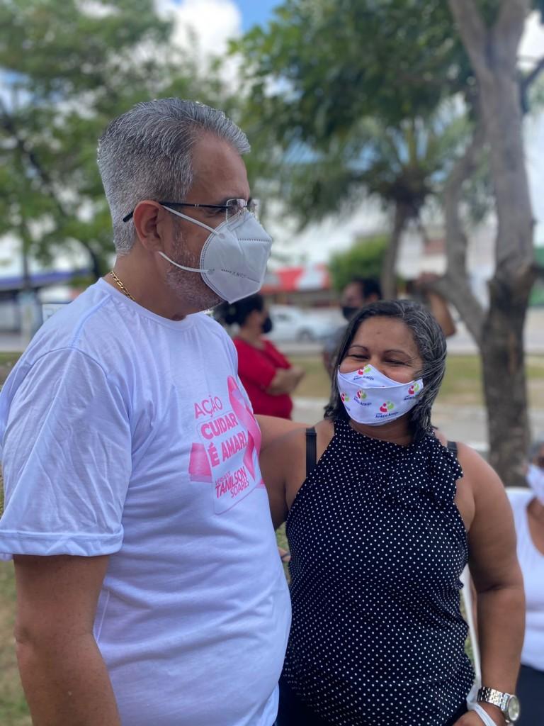 WhatsApp Image 2021 09 27 at 12.47.22 3 - Vereador Tanilson leva 'Caminhão da Saúde' para Mangabeira e realiza mamografias e outros exames em JP