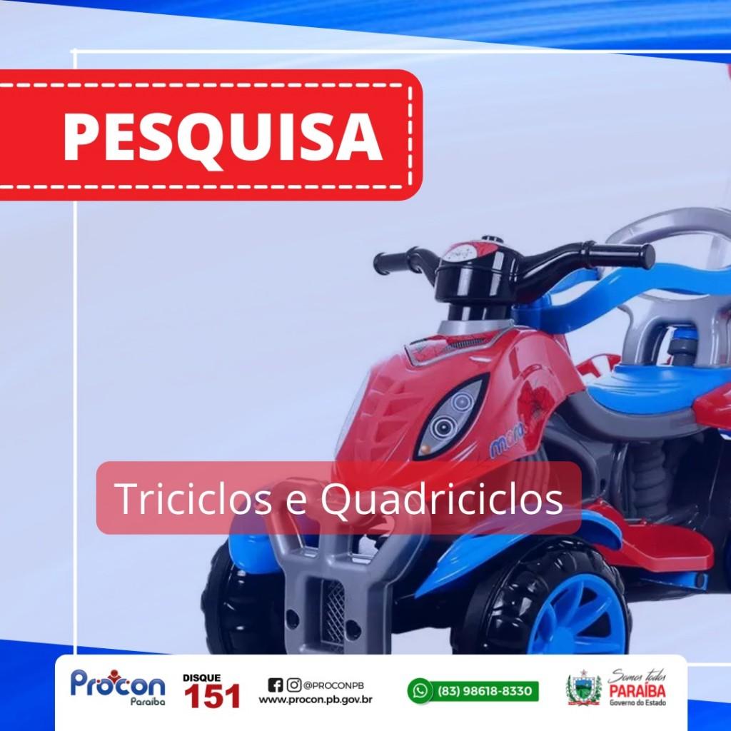 WhatsApp Image 2021 09 29 at 15.31.46 - PROCON-PB realiza pesquisa de preço de triciclos e quadriciclos, e constata variação de até 113,25%