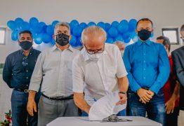 Cícero Lucena assina ordem de serviço para reforma da Escola José Eugênio Lins de Albuquerque