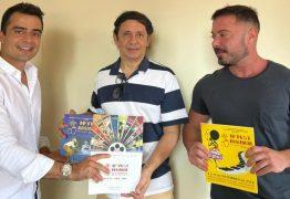 Caio e Bruno Roberto anunciam apoio ao Fest Aruanda 2021: 'reconhecimento'