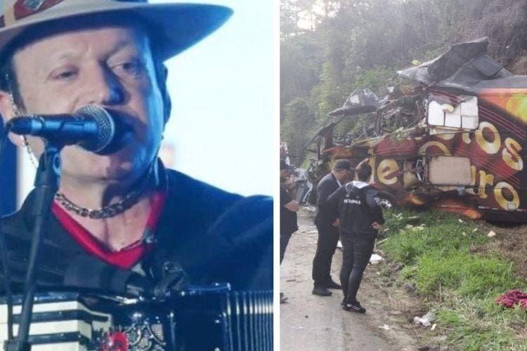 acidente mata vocalista garotos de ouro - Vocalista da Garotos de Ouro morre em acidente acidente com ônibus da banda; confira