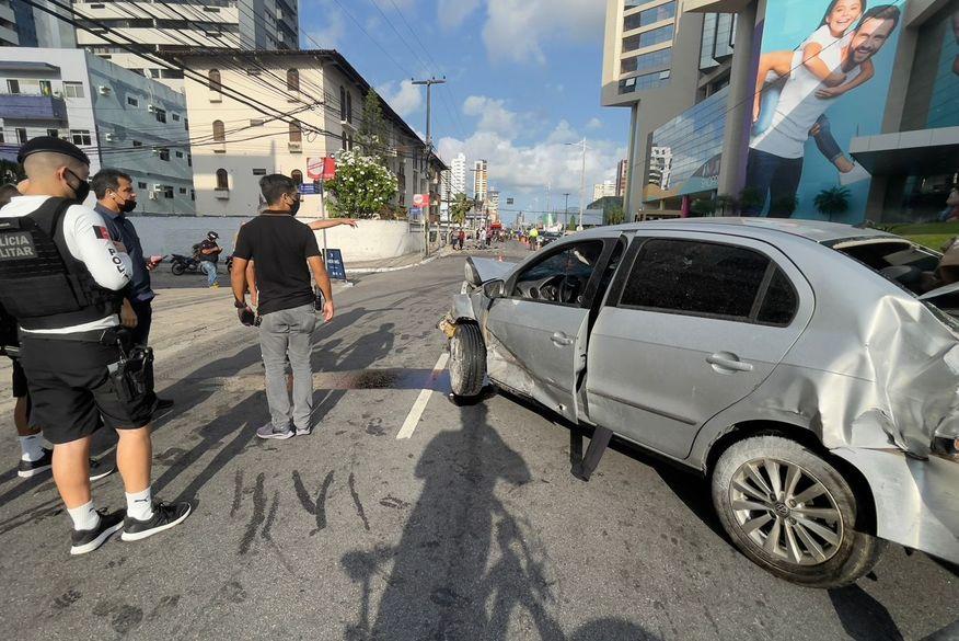 acidente no retao de manaira foto clilson jr - EM JP: Polícia Civil protocola pedido de prisão preventiva de acusado de atropelar e matar motoboy