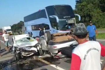 Vítimas de acidente em Santa Rita seguem internadas no Hospital de Trauma de João Pessoa