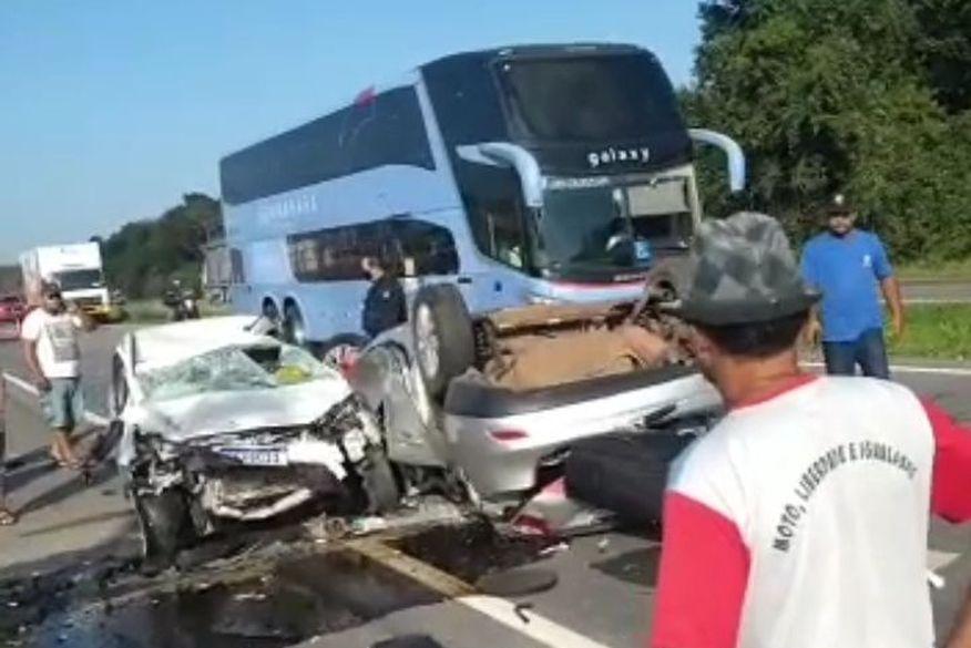 acidente santa rita 1 - Vítimas de acidente em Santa Rita seguem internadas no Hospital de Trauma de João Pessoa