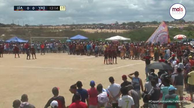 aglomeracao - Em meio a casos da variante Delta, futebol amador reúne multidão em Campina Grande; VEJA VÍDEO