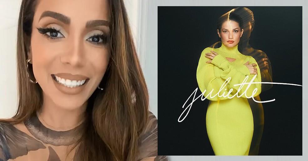anitta ep juliette - Anitta revela que EP de Juliette começou a ser planejado antes da saída dela do 'BBB21'