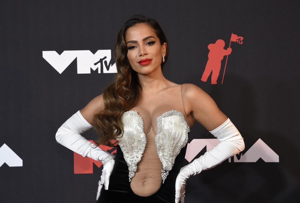 "ap21255814134029 b - VMA 2021: Anitta faz apresentação especial de ""Girl From Rio"" no intervalo comercial nos EUA e recebe apoio de famosos"