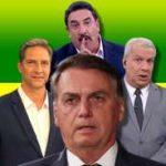 apresentadores 150x150 - ACABOU O REINADO: apresentadores que apoiam Bolsonaro vivem crise no Ibope