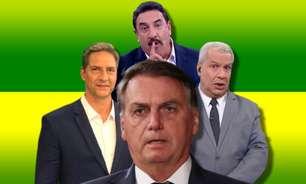 apresentadores - ACABOU O REINADO: apresentadores que apoiam Bolsonaro vivem crise no Ibope