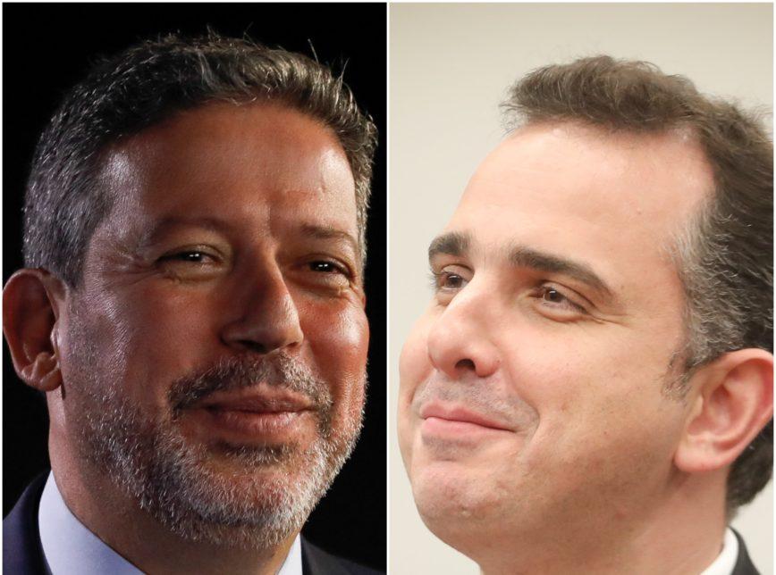 arthur lira rodrigo pacheco 868x644 1 - Lira e Pacheco tentam acordo sobre precatórios e querem reunião com Guedes
