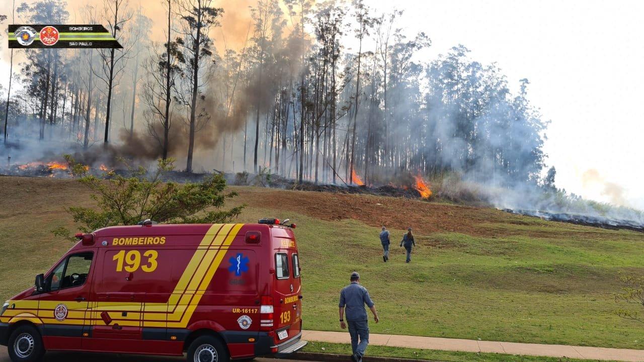 aviao piracicaba - Avião cai no interior de São Paulo; Corpo de Bombeiros confirma sete vítimas - VEJA MOMENTO DA QUEDA