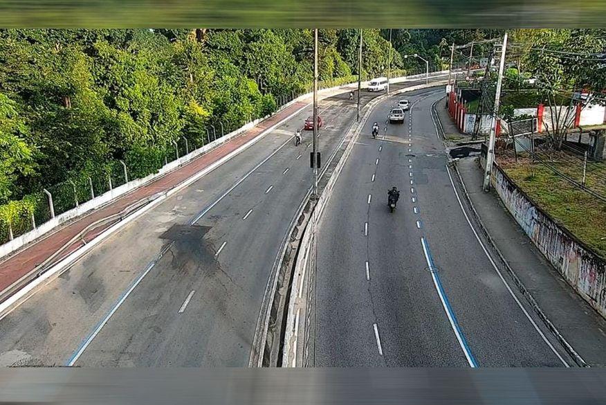 avpedro ii - Após receber camada de asfalto, Avenida Pedro II fica completamente recuperada em João Pessoa