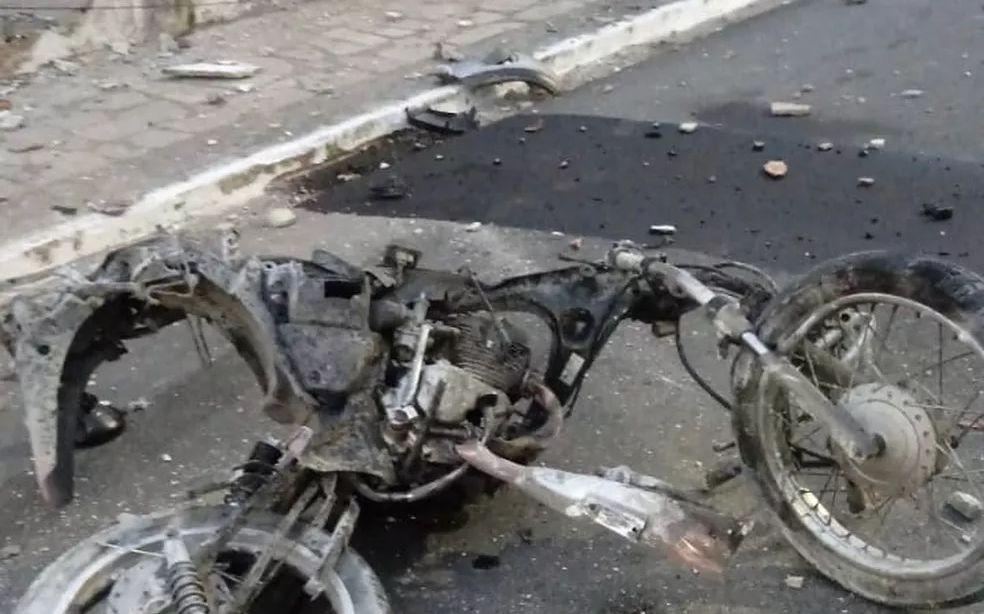 b2ap3 large Motocicleta - Segredo de justiça: sigilo atrapalha buscas por suspeito de atropelar motoboy, diz delegado