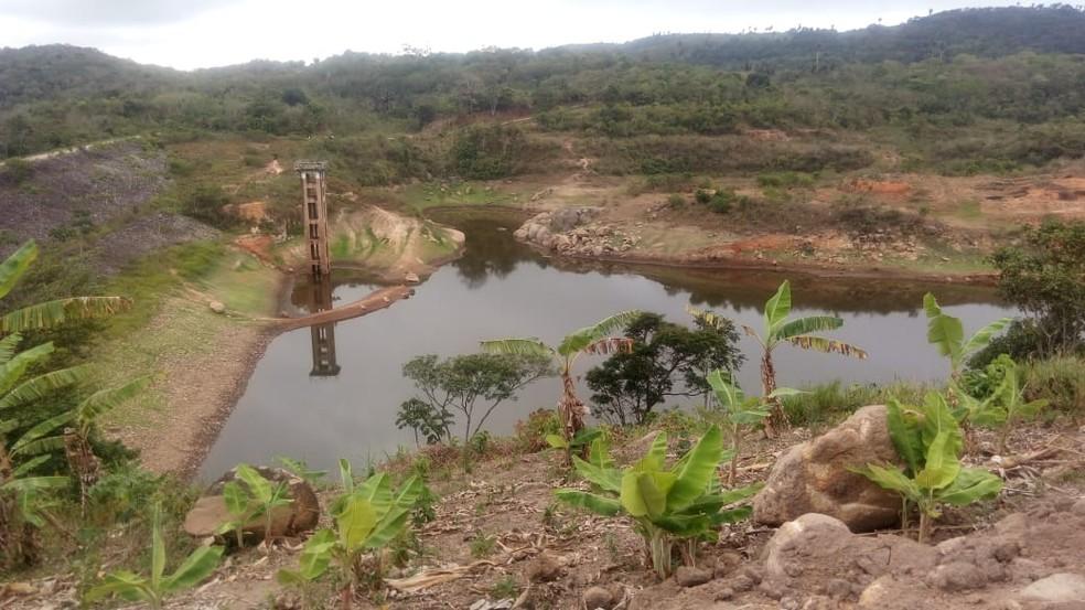 barragem - ALPB decreta estado de calamidade pública em Solânea devido à crise hídrica vivida na cidade